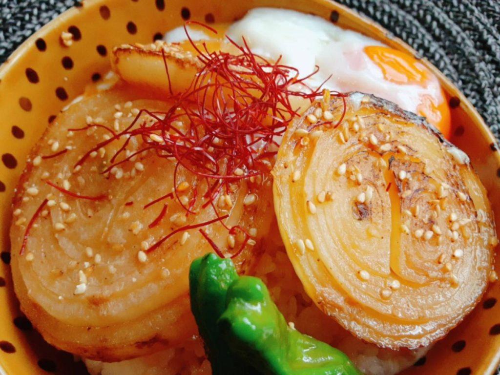 玉ねぎ丼 写真2