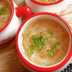 玉ねぎコンソメスープ