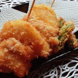 玉ねぎの串カツ